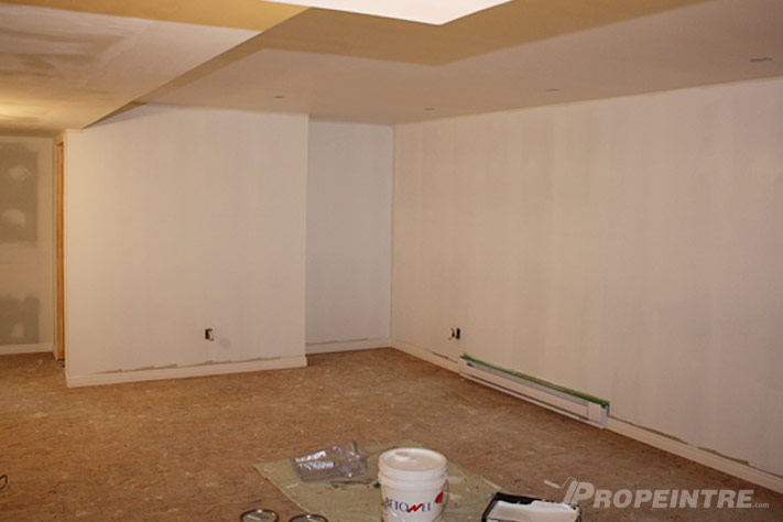 Basement painting